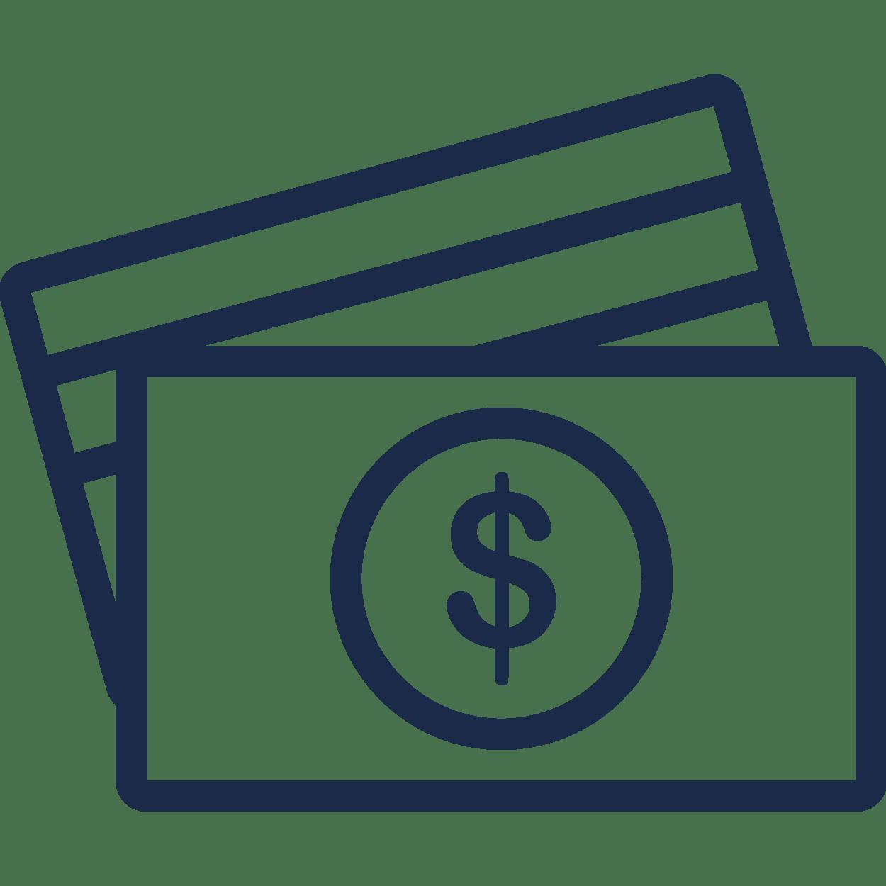Betalningsmetoder icon