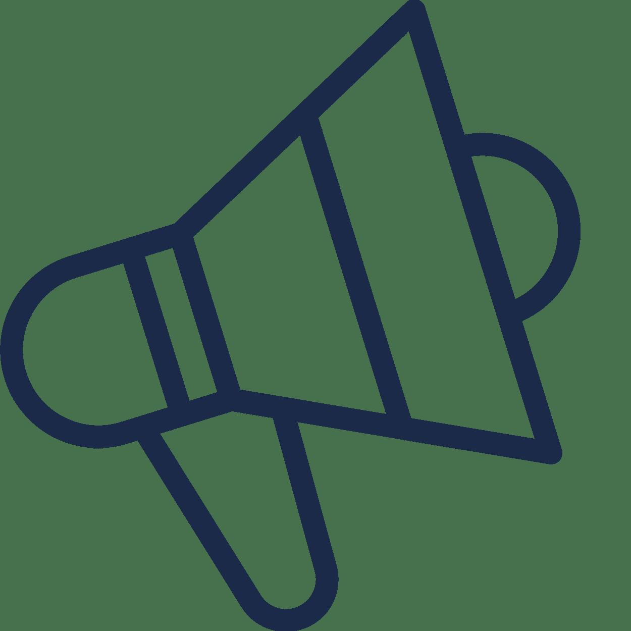 Mattfull marknadsforing icon
